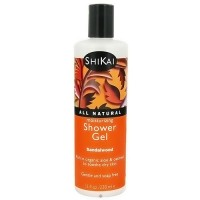 Shikai Moisturizing Shower Body Gel, Sandalwood - 12 oz