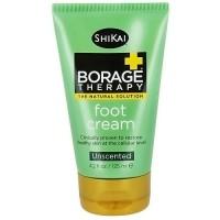 ShiKai Borage Dry Skin Therapy Foot Cream, Fragrance Free - 4.2 oz