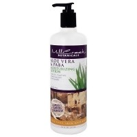 Mill Creek Botanicals Moisturizing Lotion, Aloe Vera And Paba Lotion - 16 oz