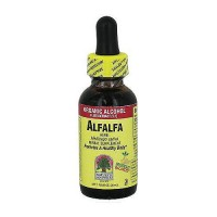 Natures Answer alfalfa herb organic alcohol fluid extract - 1 oz
