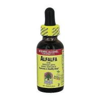 Natures Answer alfalfa herb organic alcohol fluid extract - 1 oz