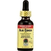 Natures Answer organic alcohol blue cohosh for muscle relaxation - 1 oz