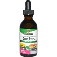 Natures Answer organic alcohol burdock root for healthy blood levels - 2 oz
