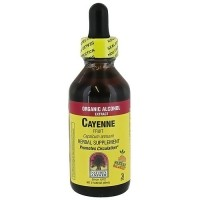 Natures Answer Cayenne Fruit Organic Alcohol Extract - 2 oz