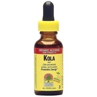 Natures Answer Kola Nut Organic Alcohol Liquid Extract - 1 oz