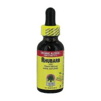Natures Answer Rhubarb Root Organic Alcohol Fluid Extract - 1 oz