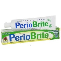 Natures Answer Periobrite natural whitening toothpaste Cool mint - 4 oz
