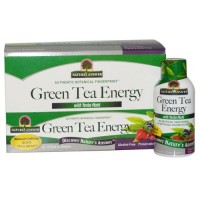 Nature's Answer green tea energy bottles, Mixed berry - 2 oz