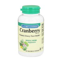 Natures Answer Cranberry single herb supplement vegetarian capsules - 90 ea