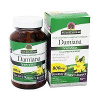 Natures Answer Damiana turnera diffusa vegetarian capsules - 90 ea