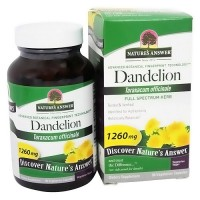 Natures Answer Dandelion taraxacum officinale, vegetarian capsules - 90 ea