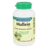 Natures Answer Mullein Leaf, Vegetarian Capsules - 90 ea