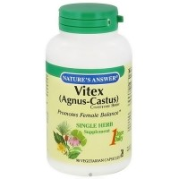 Natures Answer Vitex agnus-castus chastetree berry vegetarian capsules - 90 ea