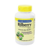 Natures Answer Bilberry extract vegetarian capsules - 90 ea