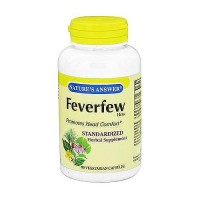 Natures Answer Feverfew herb vegetarian capsules - 90 ea