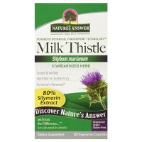 Natures answer milk thistle seed standardized 120 ea -