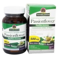 Natures Answer Passion Flower passiflora incarnata herbal extract 500 mg - 60 ea