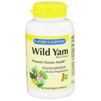 Nature's Answer wild yam root extract vegetarian capsules - 60 ea