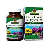 Nature's answer plant based magnesium vegetarian capsule - 90 ea