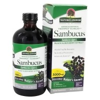 Natures Answer sambucus black elder berry extract - 8 oz