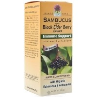 Natures Answer Sambucus Black elder berry extract immune support  - 4 oz