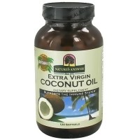 Natures Answer Extra Virgin Coconut Oil Softgels - 120 ea