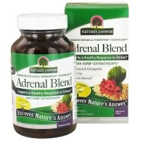 Natures Answer Adrenal Stress Away Blend Vegetarian Capsules - 90 ea