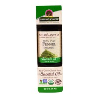 Natures Answer organic essential oil, Fennel - 0.5 oz