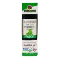 Natures Answer organic essential oil, Patchouli - 0.5 oz