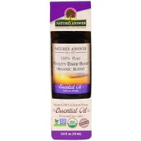 Natures Answer pure vitality ener-boost organic blend essential oil - 0.5 oz