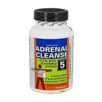 Health Plus Adrenal cleanse body cleansing system capsules - 90 ea
