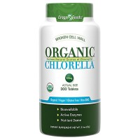 Green foods organic chlorella tablets - 300 ea