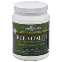 Green Foods True Vitality Plant Protein Shake with DHA - 22.7 oz