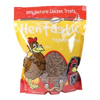 Unipet Usa hentastic dried mealworms chicken treats - 30 ounce, 4 ea
