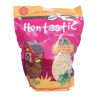 Unipet Usa hentastic mealworm and oregano chicken treats - 16 ounce, 4 ea