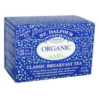 St. Dalfour deluxe premium organic tea, classic breakfast - 25 tea bags