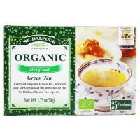 St. Dalfour - green tea premium organic original - 25 tea bags