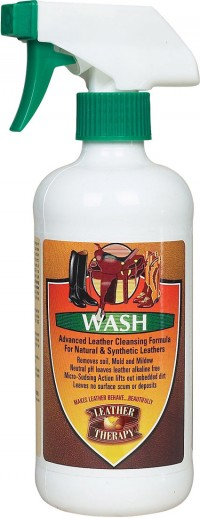 W F Young, Inc leather therapy equestrian leather wash - 32 ounce, 12 ea