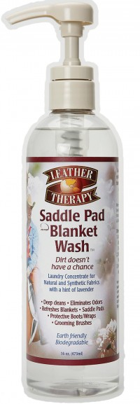 W F Young, Inc leather therapy saddle pad & blanket wash - 16 ounce, 12 ea
