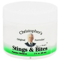 Dr. Christophers Original Stings And Bites Plantain Ointment - 2 oz