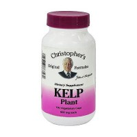 Dr. Christopher Kelp plant, 600 mg vegetarian capsules, 100 ea