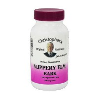 Christopher's Original Formulas Slippery Elm Bark 400 mg - 100 ea
