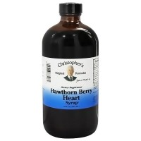 Dr. Christophers Nourish original formula hawthorn berry heart syrup - 16 oz