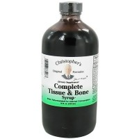 Dr. Christophers Complete Tissue and Bone syrup, 16 oz