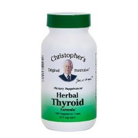 Dr. Christopher's Herbal Thyroid formula 485 mg capsules, 100 ea