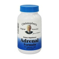Dr. Christopher adrenal 425 mg vegetarian capsules, 100 ea