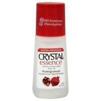 Crystal Essence Mineral Deodorant Roll On, Pomegranate - 2.25 oz