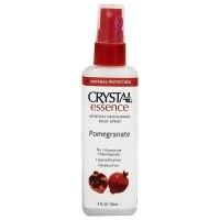 French Transit crystal essence mineral deodorant body spray, Pomegranate, 4 oz