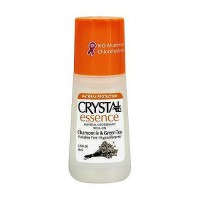 Crystal Essence Deodorant Roll On, Chamomile and Green Tea, 2.25 oz
