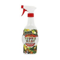 Veggie wash natural fruit and vegetable wash, spray bottle - 16 oz, 12 pack